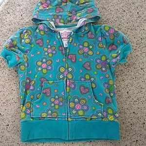 NEW LIST EUC Girls full zip up Size 7/8.